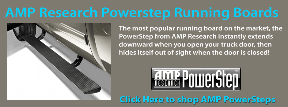 PowerSteps by AMP Research - Electric-powered running boards