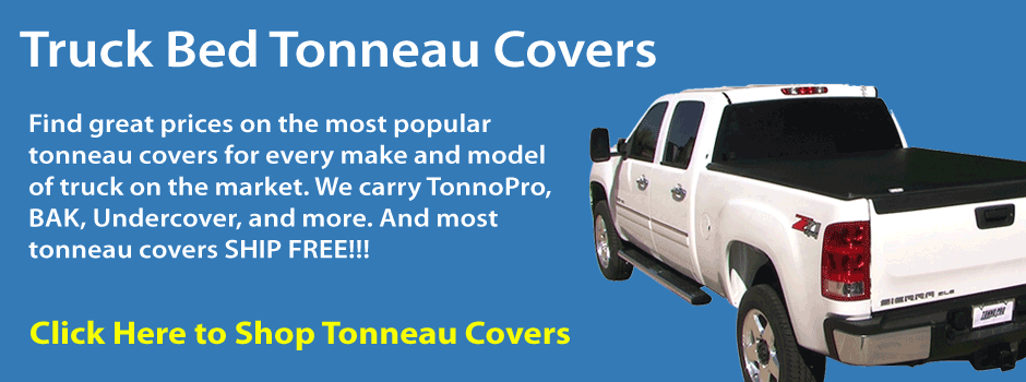 Truck Tonneau Covers from TonnoPro, BAK, Undercover, and more