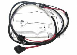 1970 chevy/gmc transmission controlled spark switch harness, v-8 w/th400