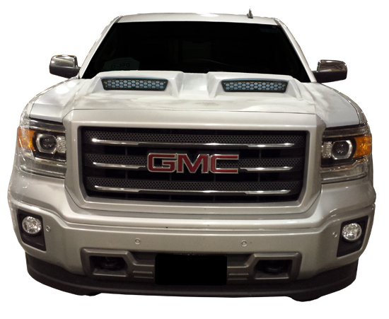 GMC Truck & SUV Cowl Induction and Ram Air Hoods