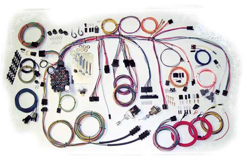 500560 1960 1966 chevy truck classic update series complete wiring kit 63 chevy c10 wiring harness at fashall.co