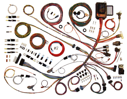 american autowire 510260 1961 66 ford truck complete classic update wiring harness kit auto wiring harness kits at alyssarenee.co