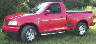 Ford F150 Hard Bed Cover >> 97-04 Ford F150 Std & Ext Cab Flareside Only Undercover ...