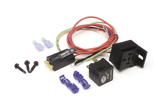 painless performance products 1988 98 gmc chevy truck high beam headlight relay kit painless