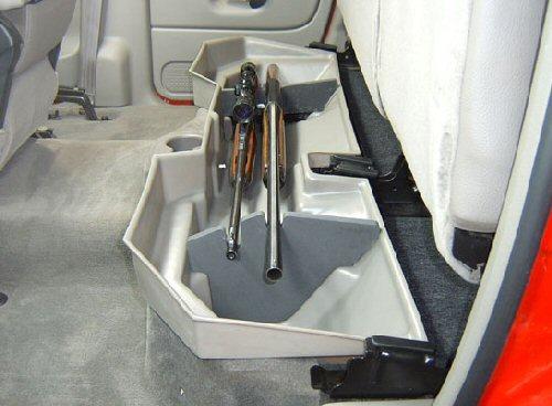 03 07 Dodge Ram 2500 3500 Quad Cab Underseat Storage